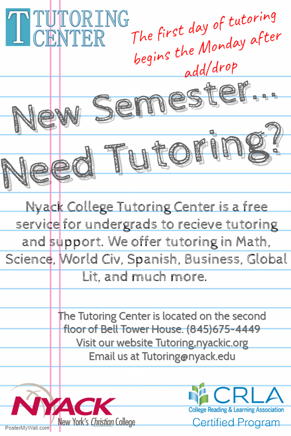 Testing Tutoring Nyack Information Commons