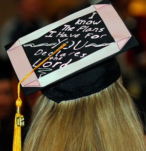Commencement: Caps and Gowns