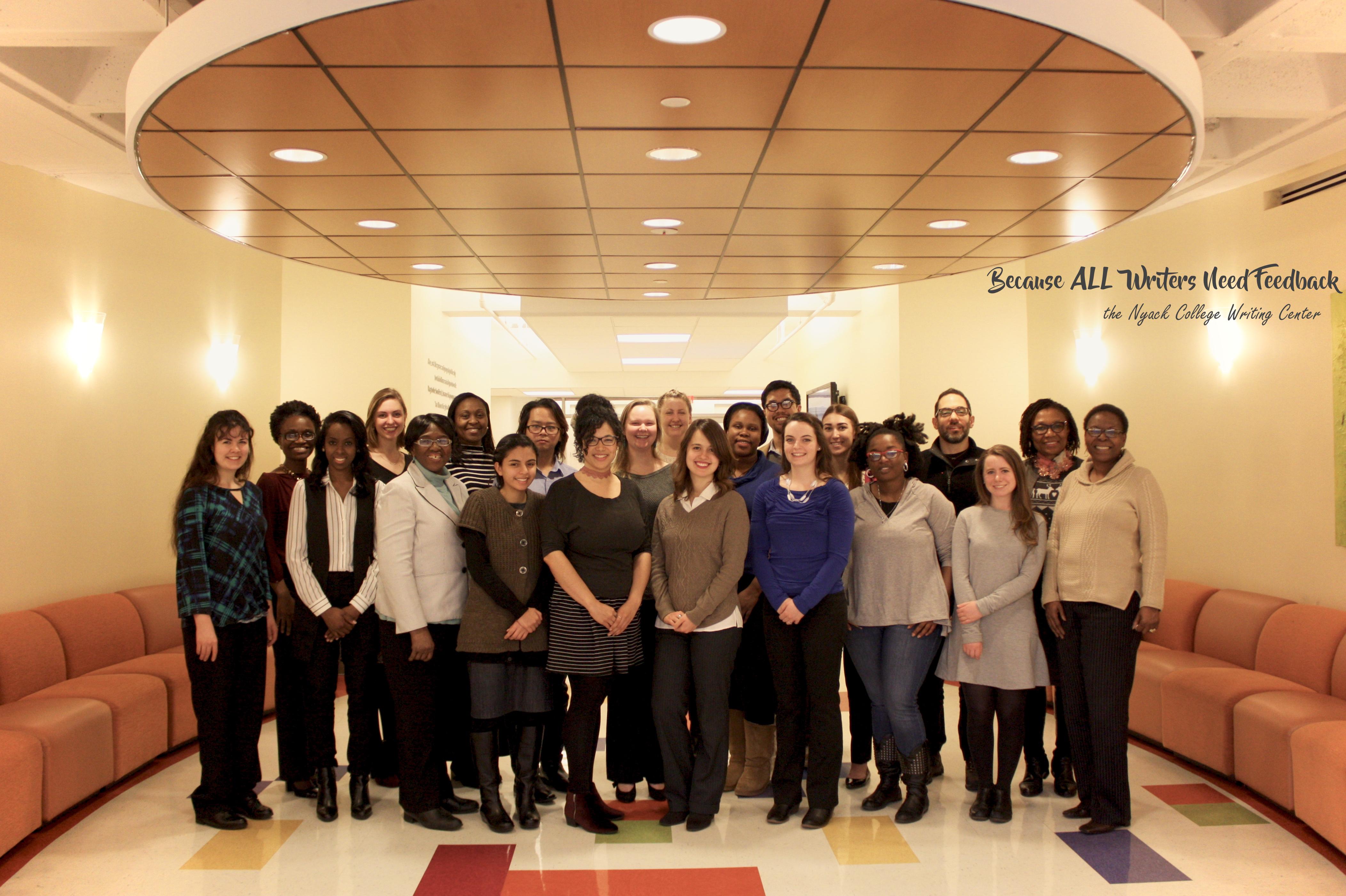 Nyack College Writing Center Staff