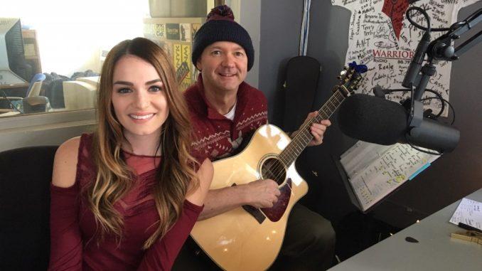 "Season 8 ""Voice"" Contestant Caitlin Caporale Visits WNYK – I"