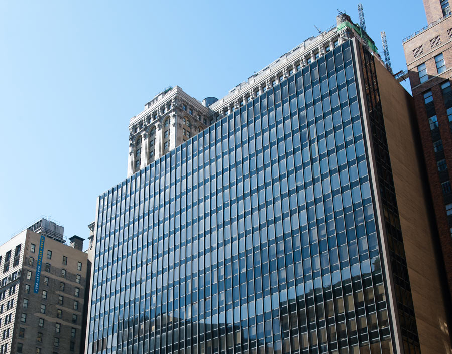 Photo of our campus building in Battery Park in New York City.