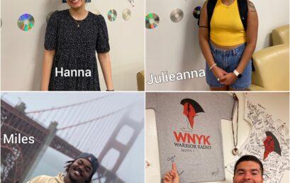 New School Year, New Studio, New Interns at WNYK!